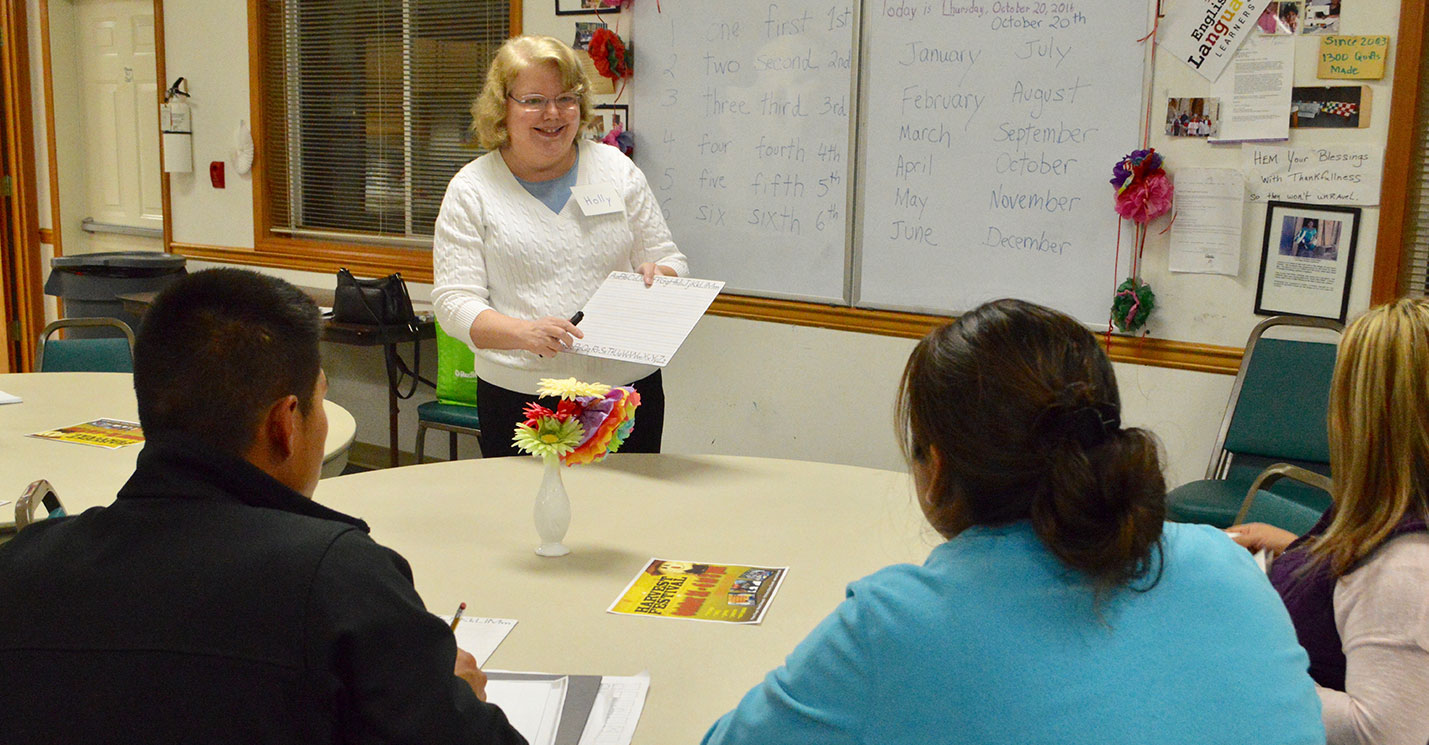 English Language Learners Class at Faith Lutheran Church