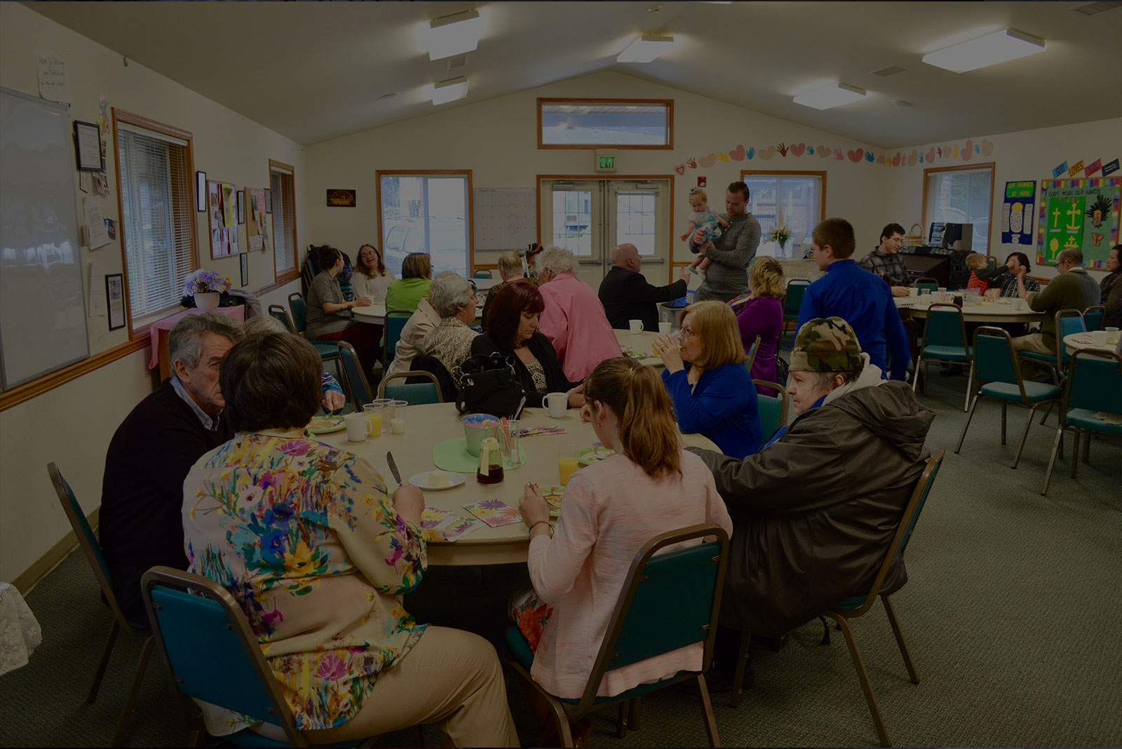 Community meal at Faith Lutheran in Everett, WA